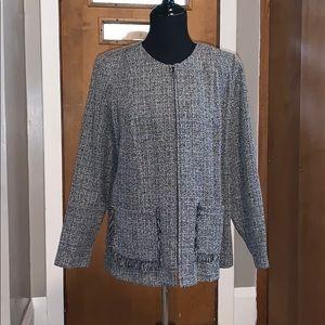 Fashion bug tweed jacket, size 14-16W
